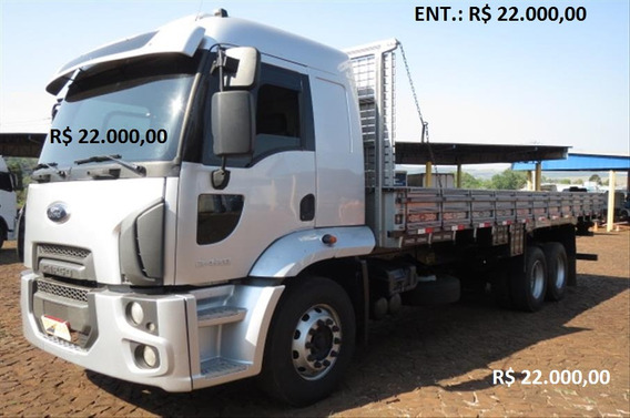 Ford Cargo 2429 Ano 2012