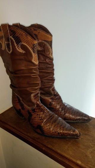 Botas Texanas N°38 Mujer