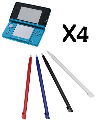 X4 Lápiz Óptico Stylus Nintendo 3ds Old Pequeña Stilus