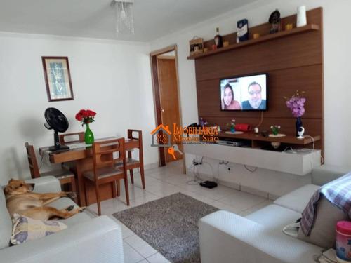 Imagem 1 de 26 de Apartamento Com 2 Dormitórios À Venda, 64 M² Por R$ 270.000,00 - Parque Cecap - Guarulhos/sp - Ap2779