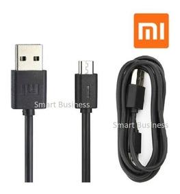 Lote Mayoreo 10 Cables Micro Usb Xiaomi Original 1.2m Negro
