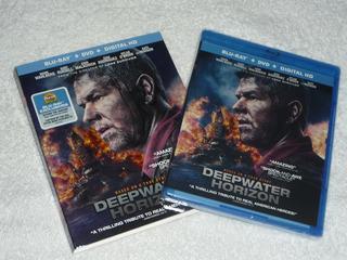 Deepwater Horizon Blu-ray + Dvd C/ Slipcover. Nuevo!