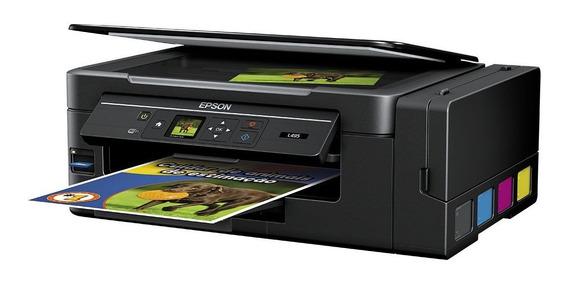 Epson L495 - Ecotank - Wi-fi - Multifuncional