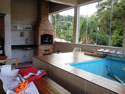 Casa Em Condomínio Com 3 Dorms - Taboão Da Serra - Ref 61054