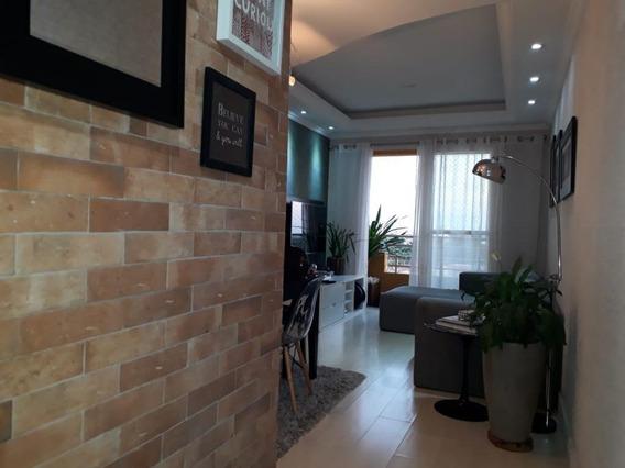 Apartamento Com 03 Dormitórios Sendo 01 Suíte, 01 Vaga De Garagem, À Venda, 70 M² Por R$ 355.000 - Bonfim - Campinas/sp - Ap0793