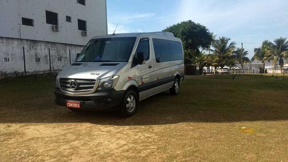 Mercedes-benz Sprinter Van 415 Van Teto Baixo 2.2 Cdi