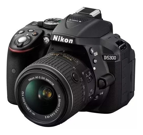 Nikon D5300, Wifi,gps+18-55mmv