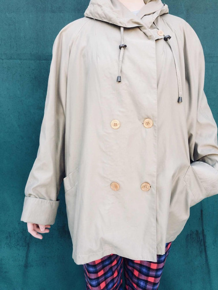 Saco Impermeable Trench Piloto Louis Feraud