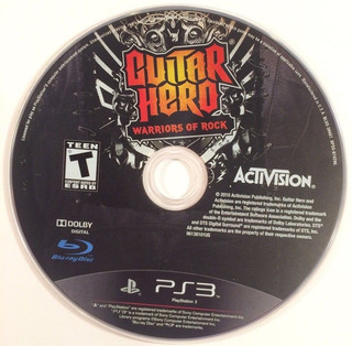 Juego Guitar Hero Warriors Of Rock Usado Ps3 Blakhelmet C