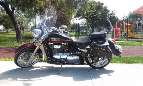 Motocycleta Suzuki Boulevard Vl 800 Modelo 2013