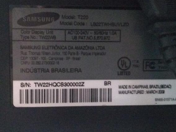 Monitor Samsung 22 Polegadas Sem Grave Ou Problema