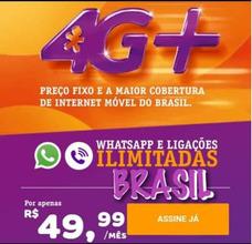 Oferta Vivo, Ativaçao Gratis, Fale Ilimitado Em Todo Brasil