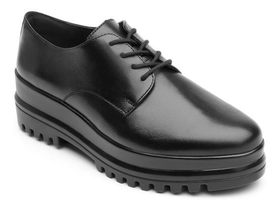 Zapato Casual Dama Mujer Flexi Plataforma Ascendente Piel