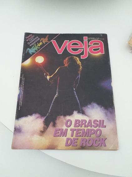 Revista Veja Nº852 Rock In Rio (frete 9;00$)