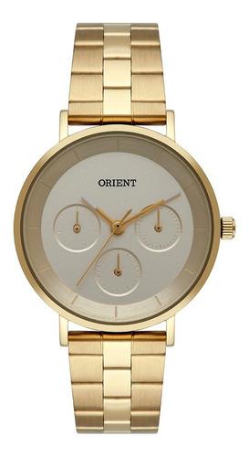 Relógio Orient Dourado Feminino Original Fgssm069 C1kx