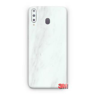 Capa Skin Adesivo 3m Mármore Branca Samsung Galaxy A50