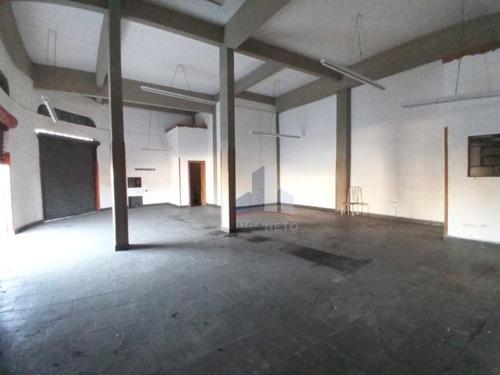 Salão Para Alugar, 150 M² Por R$ 3.500,00/mês - Matriz - Mauá/sp - Sl0123