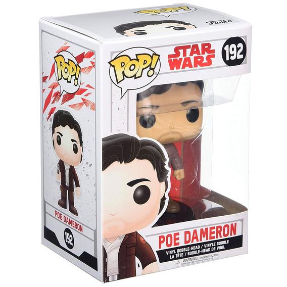 Figura Coleccionable Funko Pop Star Wars Jedi Poe Dameron