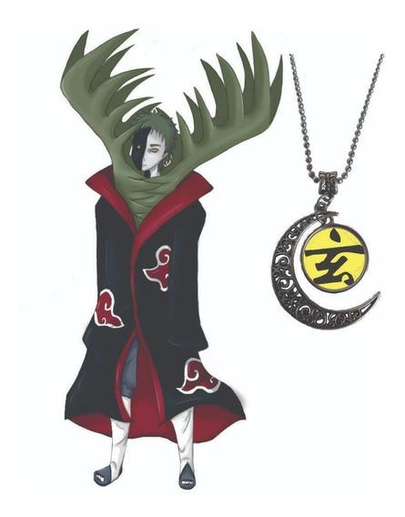 Colar Anime Naruto Akatsuki Cosplay Cordão Zetsu Premium