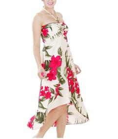 Vestido Polinesico Tipanie Fucsia Envio Gratis