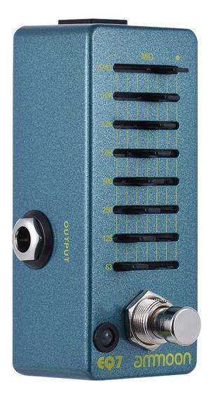 Ammoon Eq7 Mini Guitarra Equalizador Efeito Pedal Eq 7 Banda