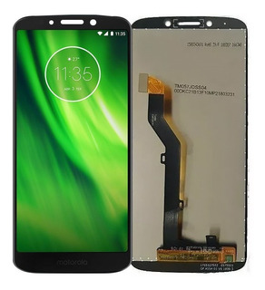 Tela Touch Display Lcd Frontal Moto G6 Play Xt1922 + Pelic