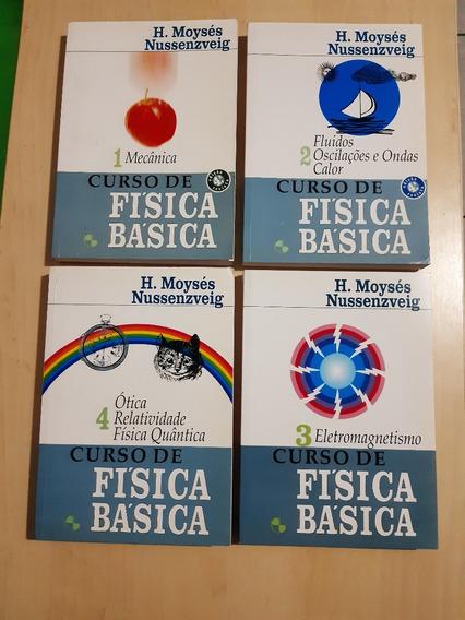 Coleção Curso De Física Básica ( H. Moysés N )
