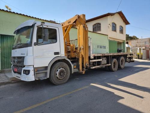 Imagem 1 de 15 de  Mercedes-benz Atego 2426 6x2 Ano 2014 Munck 20.000 Ton