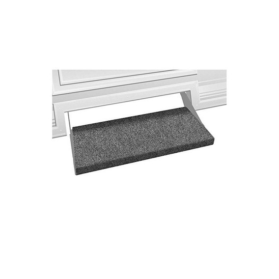 Prest-o-fit 2-0353 Outrigger Rv Step Rug Castle Gray 23 In A