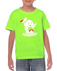 Playeras Ghostbusters Cazafantasmas Caza Fantasmas Niños