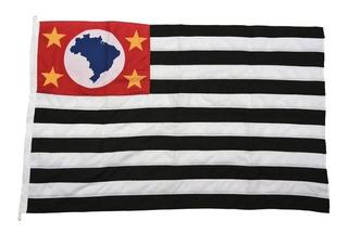 Bandeira Do Brasil, São Paulo E De Campinas Tam 90x130cm