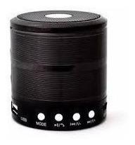 Mini Caixa Som Bluetooth Kit C/10 Ws-887 Usb Sd Mp3 Radio