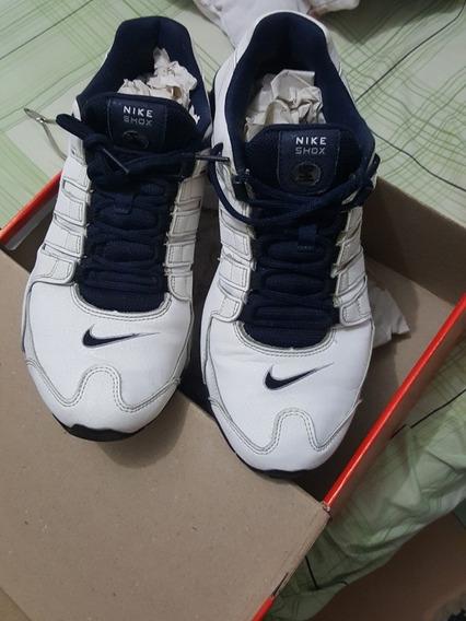 Nike Shox White/blue Usa 9.5 /
