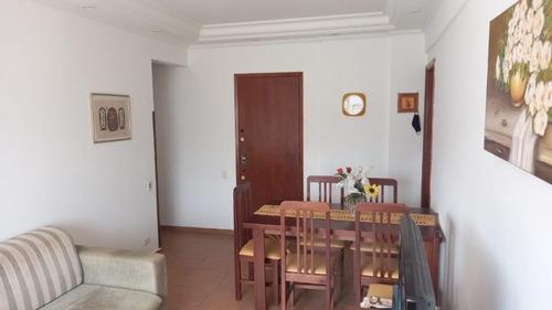 Apartamento À Venda, 74 M² Por R$ 330.000,00 - Campo Grande - Santos/sp - Ap5790