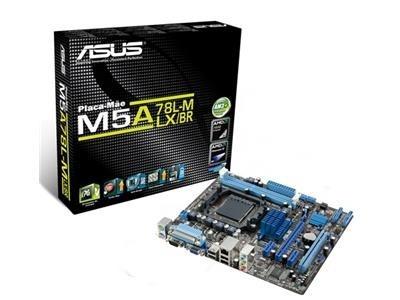 Placa Mae Mtax (am3+) - M5a78l-m Lx/br Asus