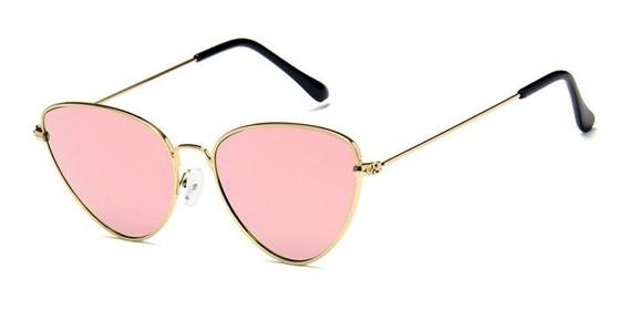 Óculos Sol Oval Transparente Espelhado Redondo Le Specs Nero