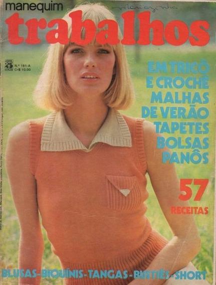 Manequim Trabalhos 1975 Marjorie Andrade Bia