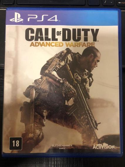Jogo Call Of Duty Advanced Warfare - Ps4 Mídia Física Br