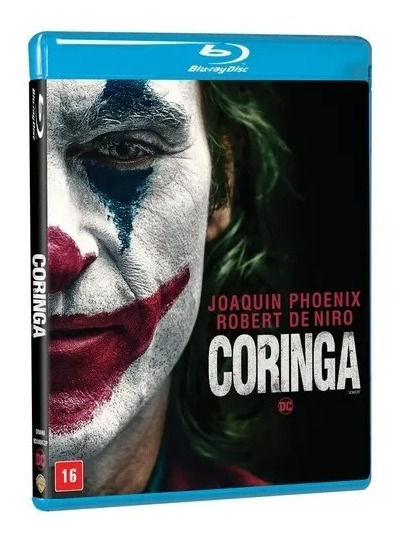Blu-ray: Coringa ( Pronta Entrega ) - Original Lacrado