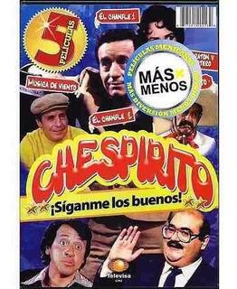 Chespirito 5 Películas En 2 Dvd Original Chavo Chapulin