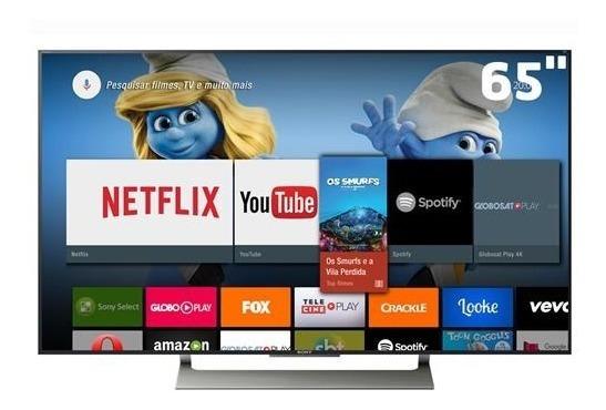 Smart Tv Led 65 Uhd 4k Sony Bravia Xbr-65x905e