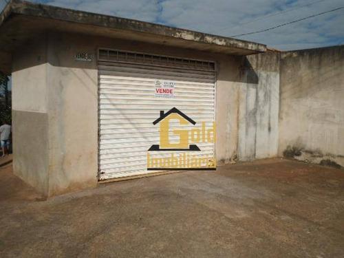 Casa Com 3 Dormitórios À Venda, 120 M² Por R$ 170.000,00 - Jardim Paiva - Ribeirão Preto/sp - Ca0159