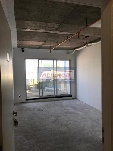 Sala Para Alugar, 26 M² Por R$ 1.200/mês - Vila Moreira - Guarulhos/sp - Ai9171