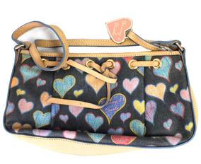 Bolsa Dooney & Bourke Estampa De Coração Com Couro B3241