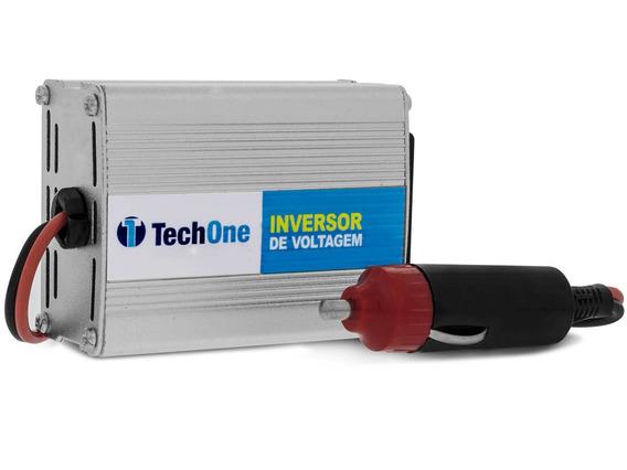 Inversor De Voltagem 200w 12v Para 110v Usb Techone
