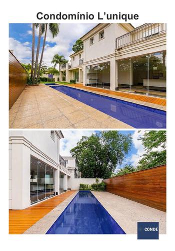 Casa Em Condominio Com 4 Suítes A Venda - 62030477