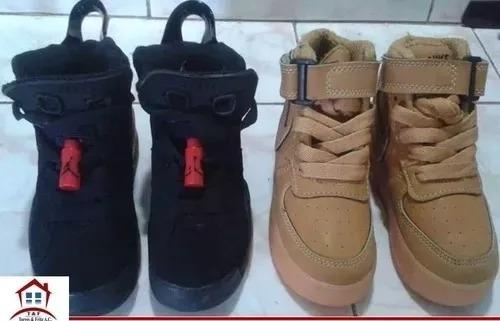 Zapatos Jordan De Niño Originales Usados