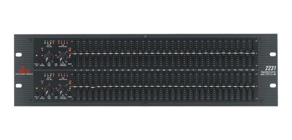 Equalizador Dbx 2231v Limitador Gráfico Com Tipo Iii 110v