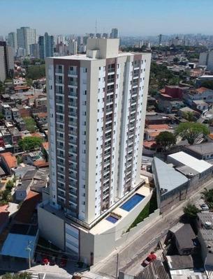 Apartamento 2 Dormitórios Terraço Grill Baeta Sbc Pronto