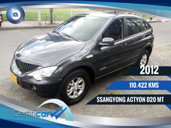 Ssangyong Actyon D20dt Financiamos